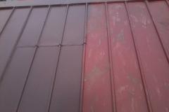 Naprawa dachu - malowanie