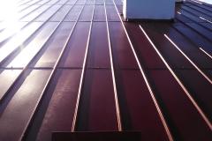 Dach po malowaniu i renowacji