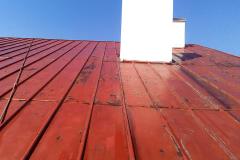 Dach przed malowaniem i renowacją