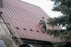 Usługi dekarskie - naprawa dachu
